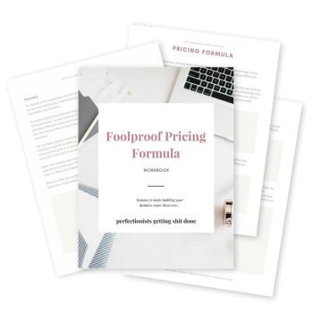 Full-Time Coach - Graphic - Foolproof Pricing Formula