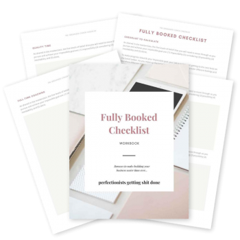 Full-Time Coach - Graphic - Fully Booked Checklist