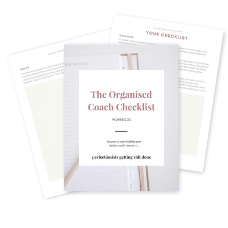 Full-Time Coach - Graphic - The Organised Coach Checklist